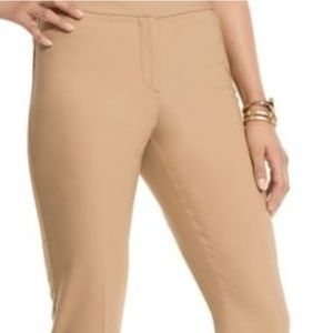 Pants - Chicos fabulousy slimming stretchy work fun trendy